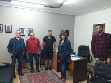 H βουλευτής Ημαθίας του ΣΥΡΙΖΑ Φρόσω Καρασαρλίδου συναντήθηκε με την ομάδα SOS Βέρμιο, στο πλαίσιο του πολυνομοσχεδίου για την προστασία του περιβάλλοντος